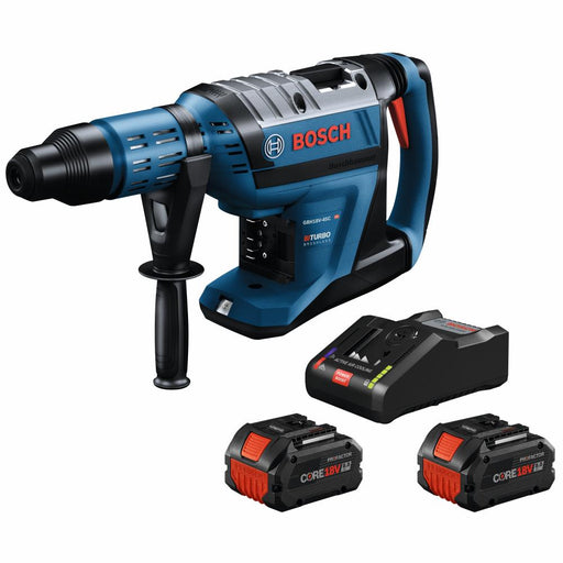 "Bosch GBH18V-45CK24 PROFACTOR 18V Hitman Connected-Ready SDS-Max 1-7/8"" Rotary Hammer Kit - Image 1"