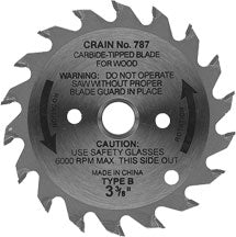 "Crain 789 2-5/8"" Toe-Kick Diamond Blade"