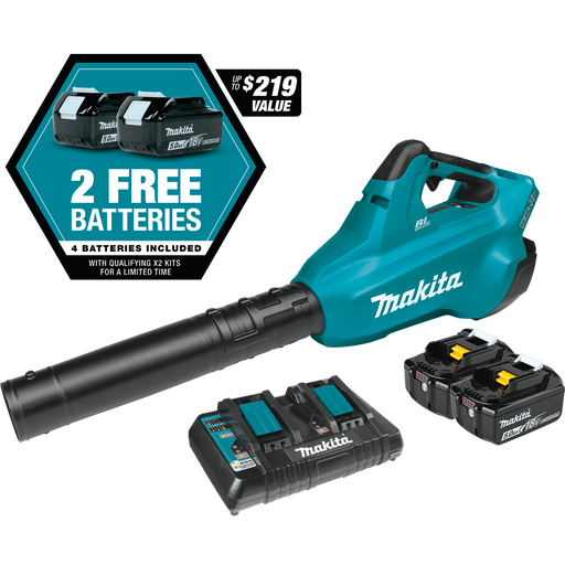 Makita XBU02PT1 18V X2 (36V) LXT Lithium‑Ion Brushless Cordless Blower Kit