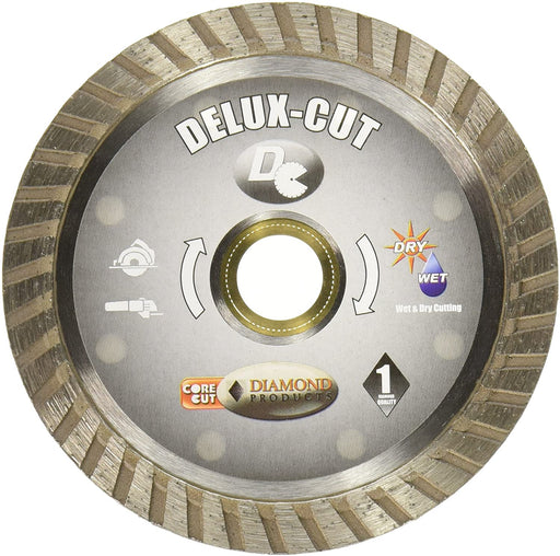 "Diamond Products 21124 Delux-Cut Turbo 4"" Diamond Saw Blade"