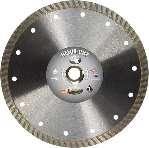 "Diamond Products 21163 Delux-Cut Turbo 7"" Diamond Saw Blade"