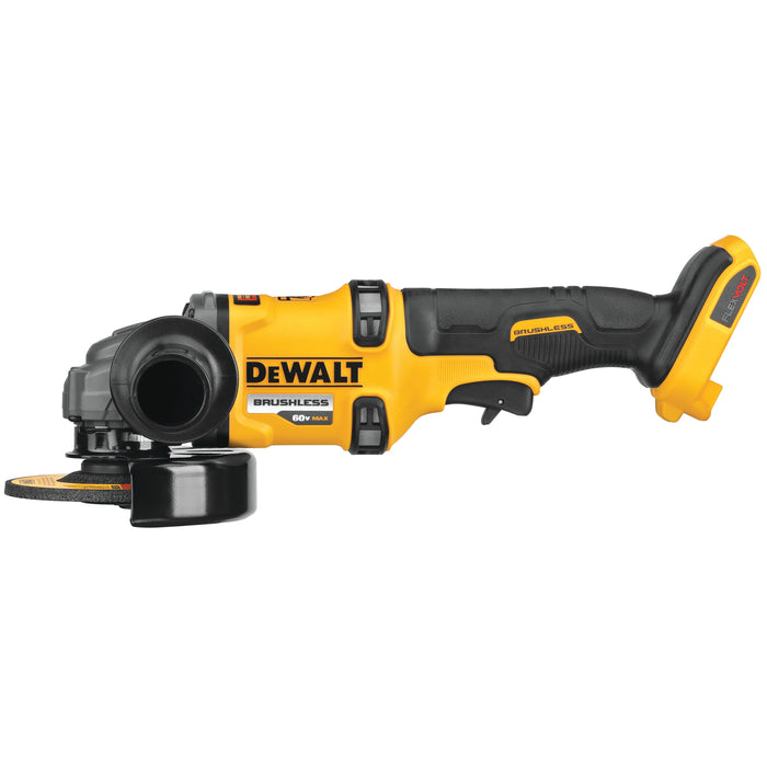 "DeWalt DCG418B Flexvolt 60V MAX Brushless  4-1/2"" - 6"" Cordless Grinder with Kickback Brake (Tool Only)"