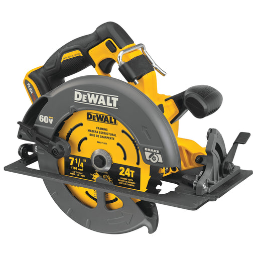 "DeWalt DCS578B Flexvolt 60V MAX Brushless 7-1/4""Cordless Circular Saw with Brake (Tool Only)"