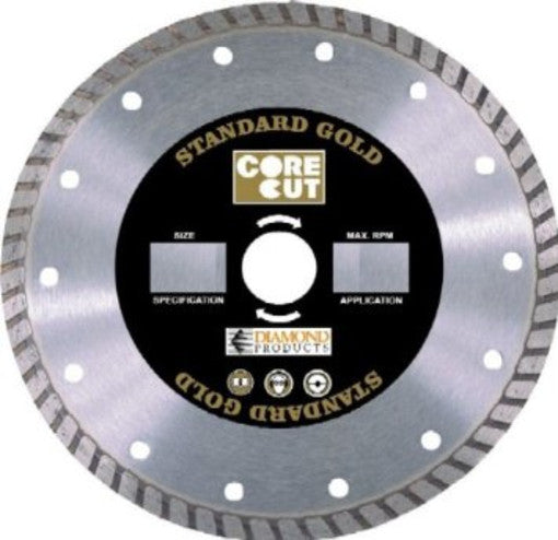"Diamond Products 12489 7"" Diamond Saw Blade"