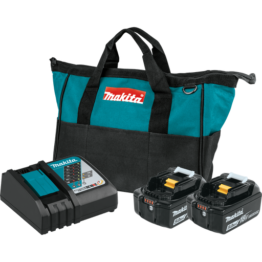 Makita BL1850BDC2 18V LXT Battery and Rapid Charger Starter Pack