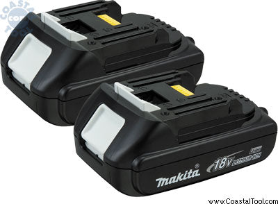 Makita BL1815-2 18V Compact Lithium Ion Battery 2 Pack