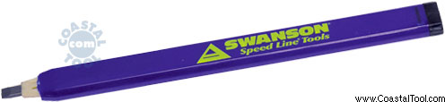 Swanson CP216 AlwaysSharp Carpenter's Pencil 2 Pack