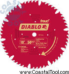 "Diablo D1050X 10"" Combination Saw Blade"