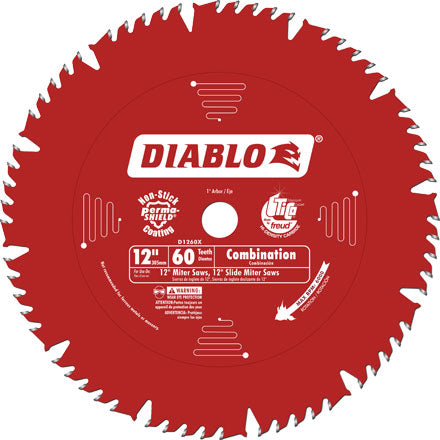 "Diablo D1260X 12"" Combination Saw Blade"