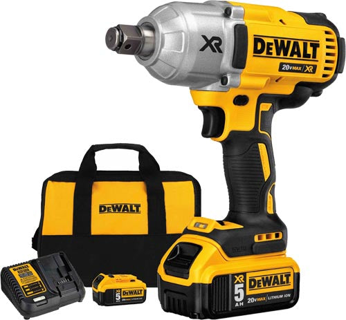 "DeWalt DCF897P2 3/4"" Impact Wrench Kit"