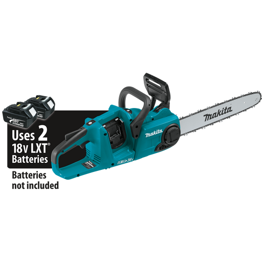 "Makita XCU04Z 18V X2 (36V) LXT Lithium‑Ion Brushless Cordless 16"" Chain Saw (Tool Only)"