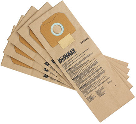 DeWalt DWV9401 Replacement Filter Bags