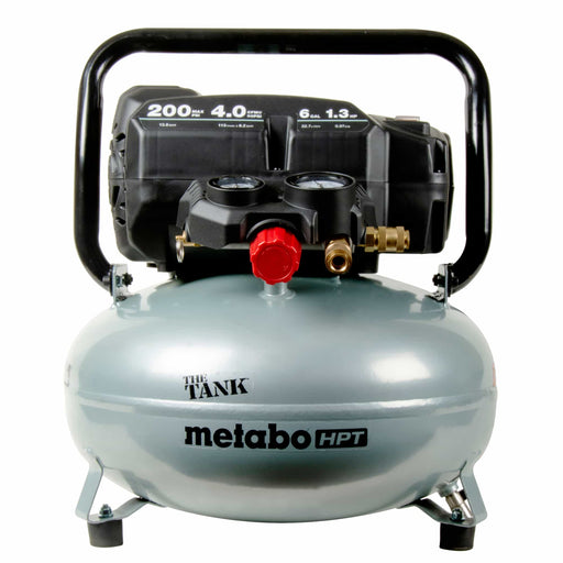 Metabo HPT EC914SM THE TANK 6-Gallon High Capacity Pancake Air Compressor Image 1