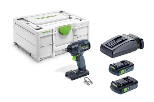 Festool 576480 TID 18 Cordless 18V Impact Driver PLUS 4.0Ah Kit