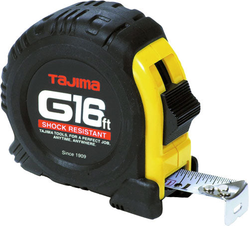 Tajima G16BW 16' G-Series Tape Measure