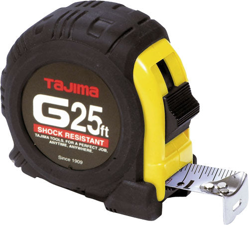 Tajima G25BW 25' G-Series Tape Measure