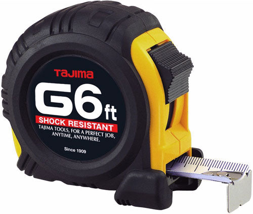 Tajima G6BW 6' G-Series Tape Measure