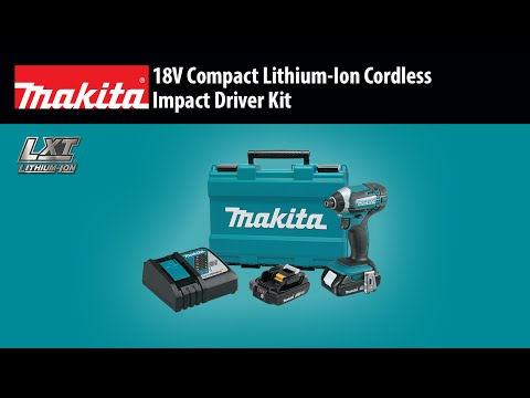 Makita XT261M 18 Volt LXT 2-Tool Cordless Combo Kit Video 1