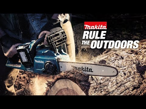 "Makita XCU04Z 18V X2 (36V) LXT Lithium‑Ion Brushless Cordless 16"" Chain Saw Video 1"
