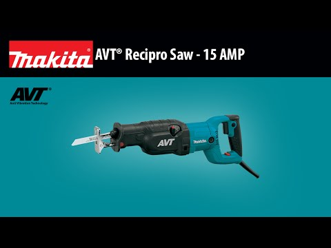 Makita JR3070CT Reciprocating Saw Kit Video
