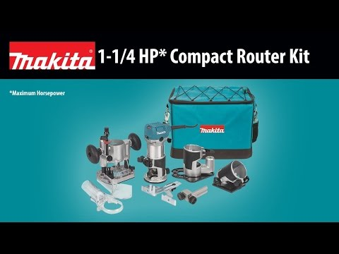 Makita RT0701CX7 Compact Router Kit Video