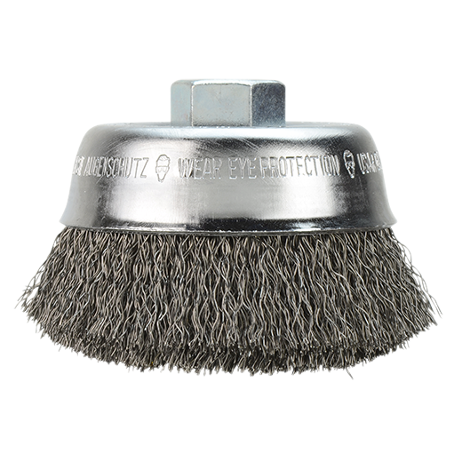 "Milwaukee 48-52-1300 4"" Crimped Wire Cup Brush"