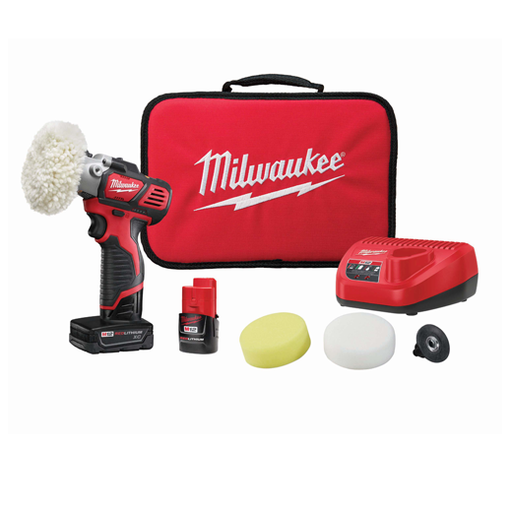 Milwaukee 2438-22X M12 Polisher/Sander Kit Image 1