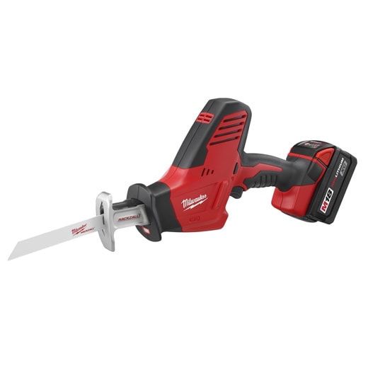 Milwaukee 2625-21 M18 18V Hackzall Recip Saw Kit Image 1