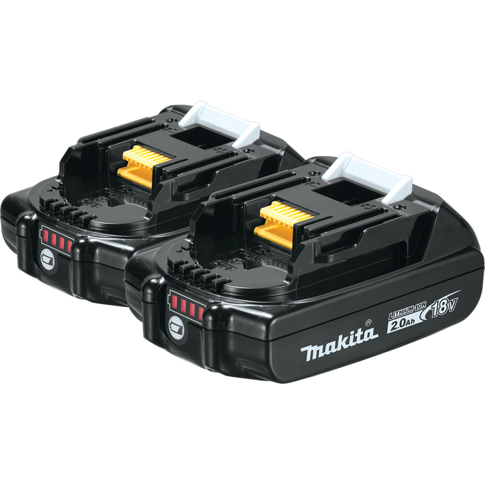 Makita BL1820B-2 18V Battery 2-Pack Image 1