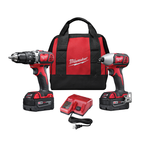 Milwaukee 2697-22 2-Tool Combo Kit Image 1
