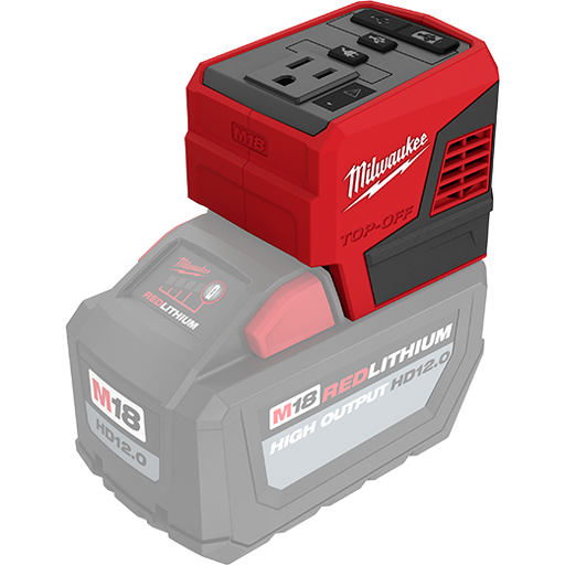 Milwaukee 2846-20 M18 Top-Off 175W Power Supply Image 2