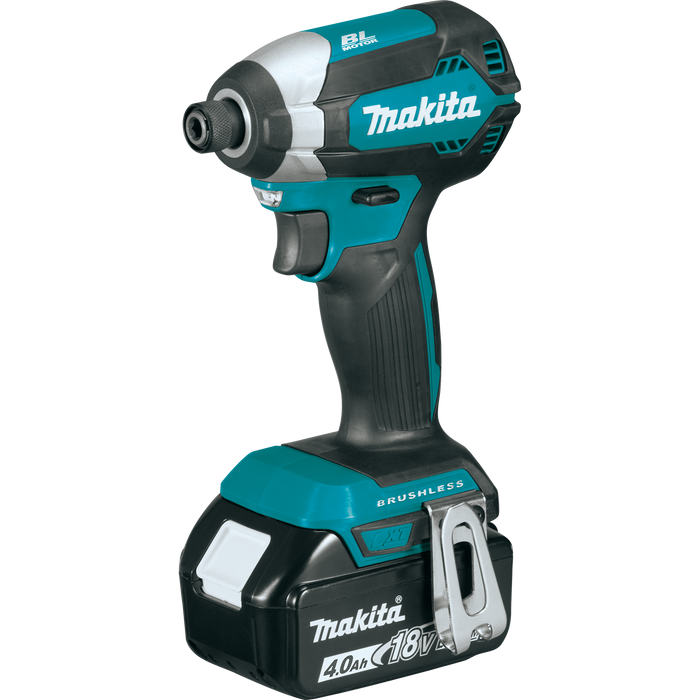 Makita XT333X1 18V LXT Lithium‑Ion Brushless Cordless 3-Tool Combo Kit Image 2