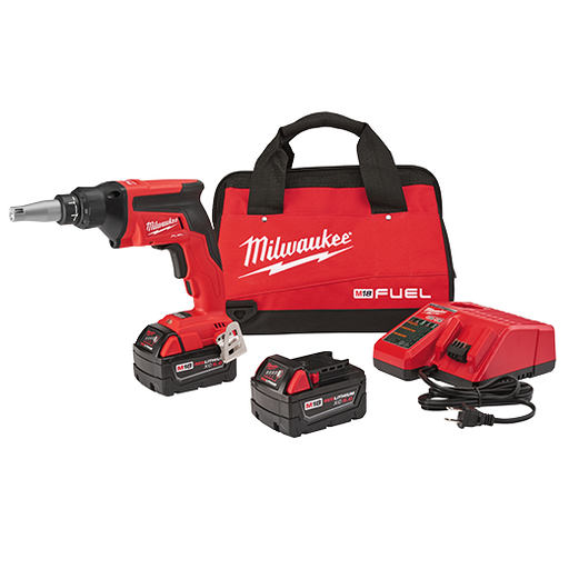 Milwaukee 2866-22 M18 Fuel Drywall Screw Gun Kit Image 1