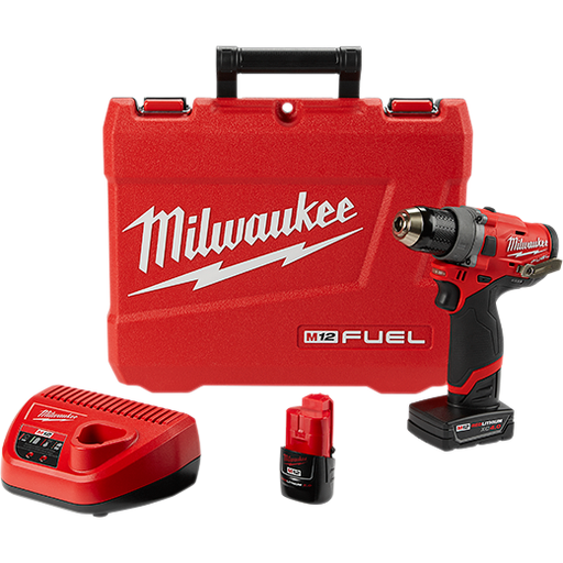 "Milwaukee 2503-22 M12 Fuel 1/2"" Drill-Driver Kit Image 1"