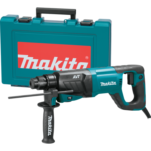 "Makita HR2641 1"" SDS-Plus Rotary Hammer Kit Image 1"