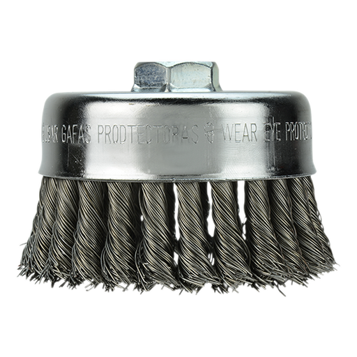 "Milwaukee 48-52-5050 2-3/4"" Single Row Knot Wire Cup Brush"