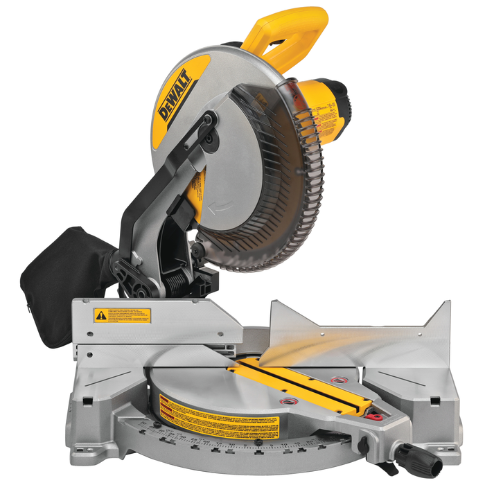 "DeWalt DWS715 12"" Single-Bevel Compound Miter Saw Image 1"