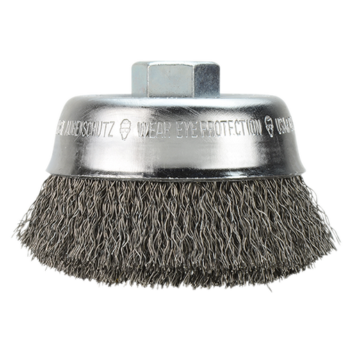 "Milwaukee 48-52-5060 3"" Crimped Wire Cup Brush"
