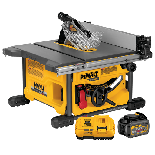 DeWalt DCS7485T1 FlexVolt Table Saw Kit Image 1