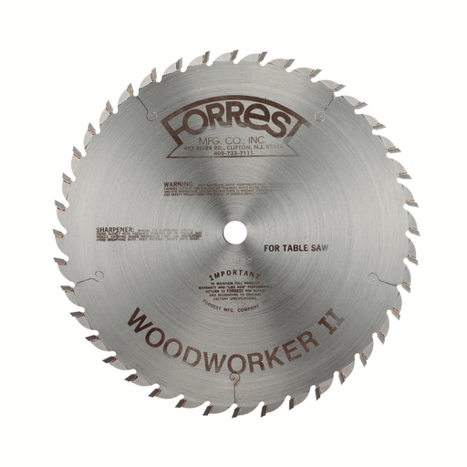 "Forrest WW10407125 10"" Woodworker II Saw Blade"