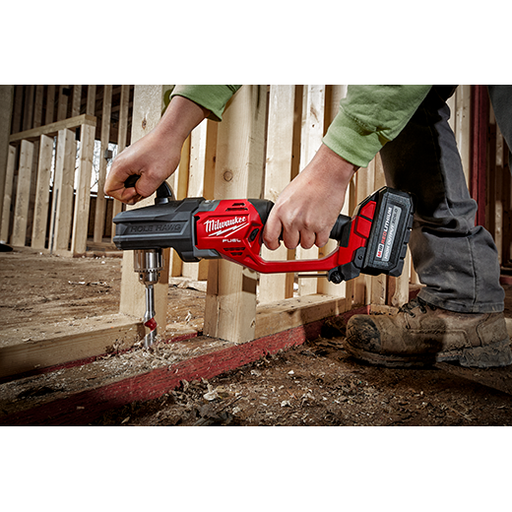 "Milwaukee 2807-20 M18 Fuel Hole Hawg 1/2"" Right Angle Drill (Tool Only) Image 2"