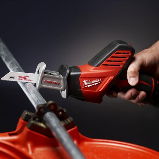 Milwaukee 2420-20 M12 12V Hackzall Recip Saw (Tool Only) Image 2