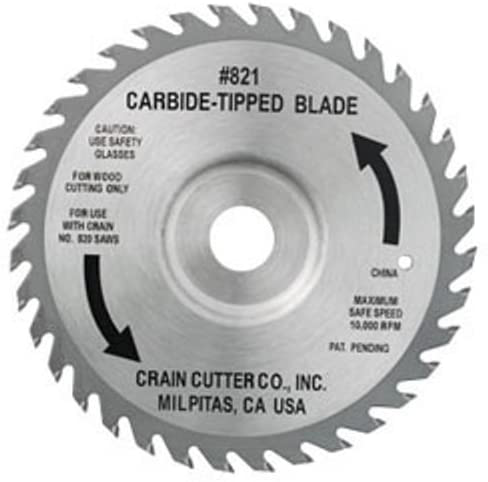 "Crain 821 6-1/2"" Super Saw Wood Blade"