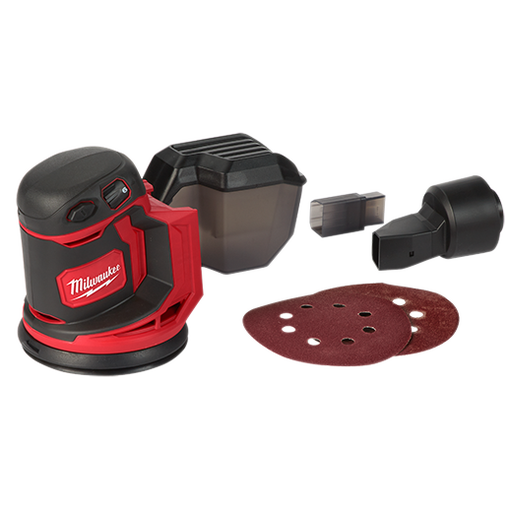 "Milwaukee 2648-20 M18 5"" Random Orbit Sander (Tool Only) Image 1"