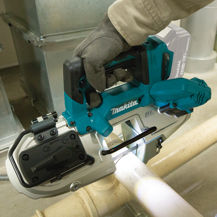 Makita XBP04Z LXT 18 Volt Compact Brushless Band Saw Image 2