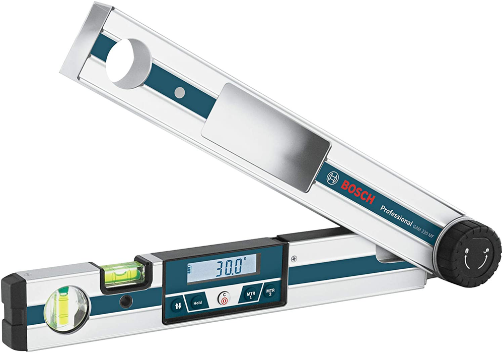 Bosch GAM 220 MF Miterfinder Digital Angle Finder - Image 1