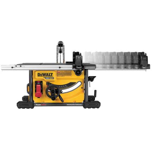 DeWalt DCS7485T1 FlexVolt Table Saw Kit Image 2