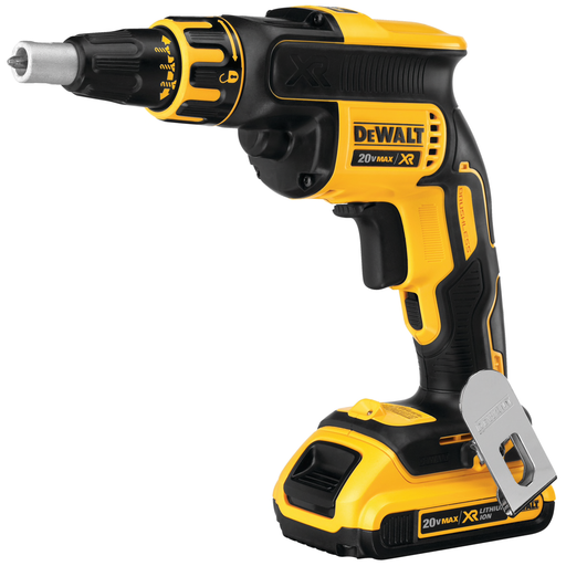 DeWalt DCF620D2 Drywall Screwgun Kit Image 2