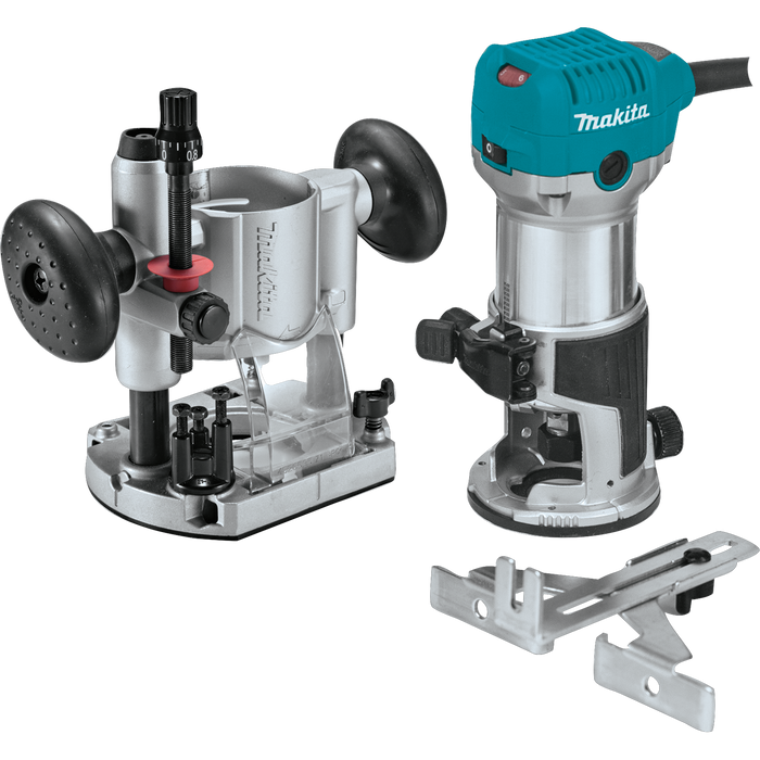 Makita RT0701CX7 Compact Router Kit Image 1