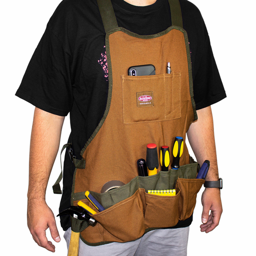 Bucket Boss 80200 Canvas SuperBib Apron - Image 2